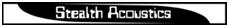 Stealth Acoustics