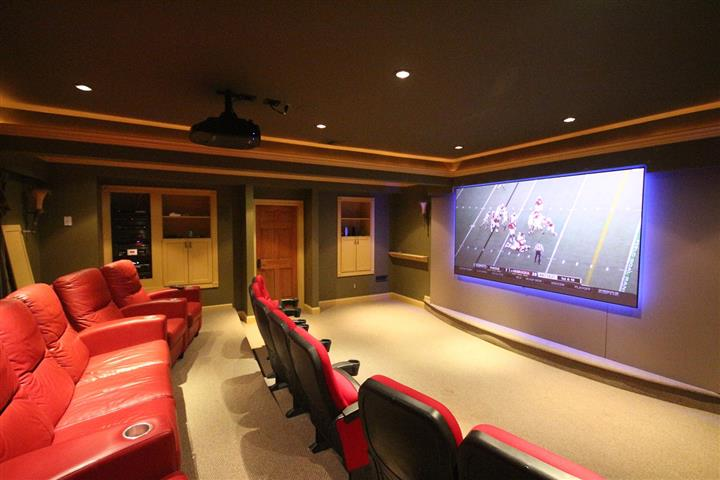Berkeley Heights Home Theater