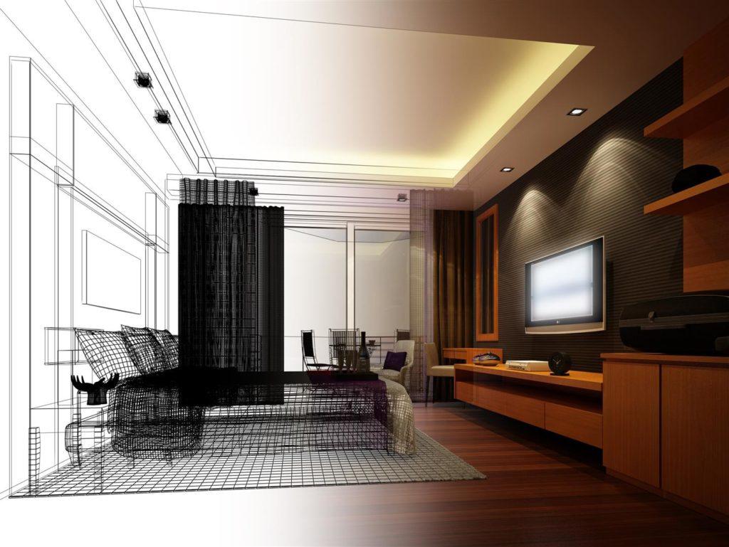 Home wiring bedroom